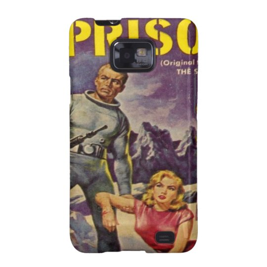 Space Prison Samsung Galaxy SII Cover