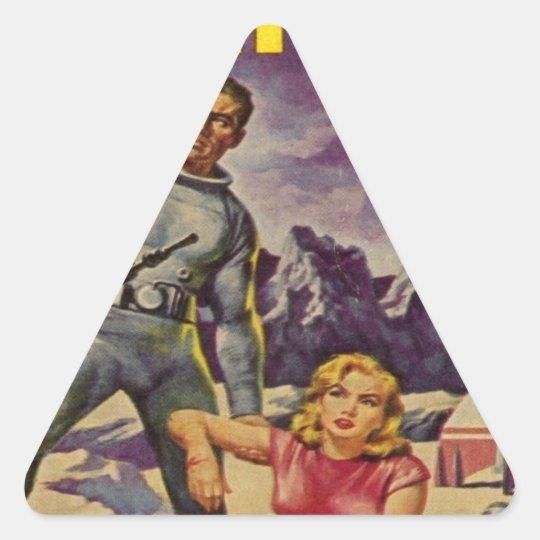 Space Prison Triangle Sticker