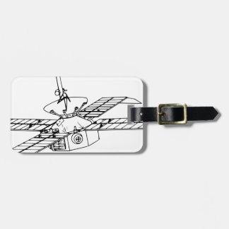 Space Probe Luggage Tag