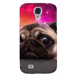 space pug - pug food - pug cookie samsung galaxy s4 case