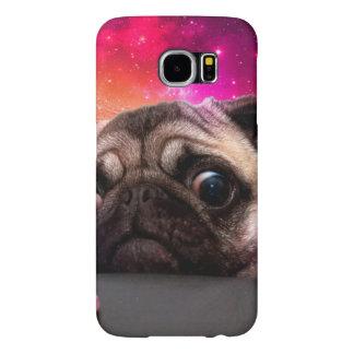 space pug - pug food - pug cookie samsung galaxy s6 cases