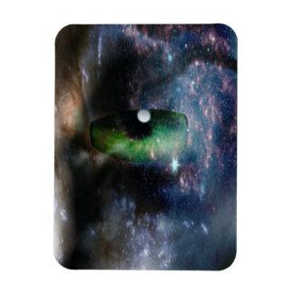 Space Rectangular Photo Magnet