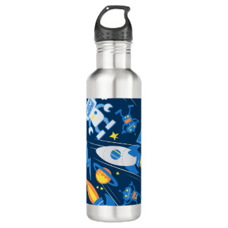 Space robot 710 ml water bottle