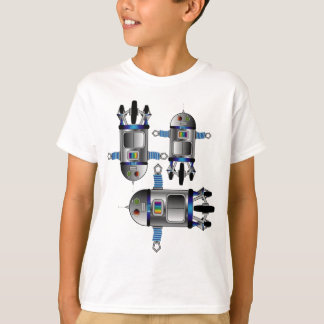space robot BIRTHDAY boy novelty gift shirt