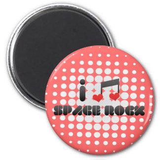 Space Rock fan Magnet