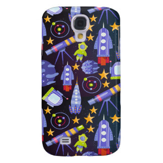 Space Rocket Galaxy S4 Cover