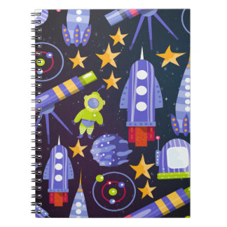 Space Rocket Notebook