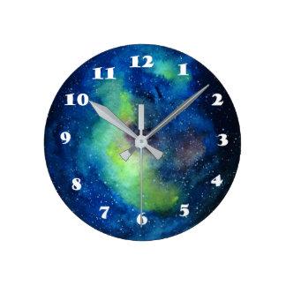 Space Round (Medium) Wall Clock