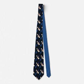 Space satellite tie