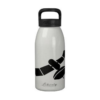 Space satellite reusable water bottles