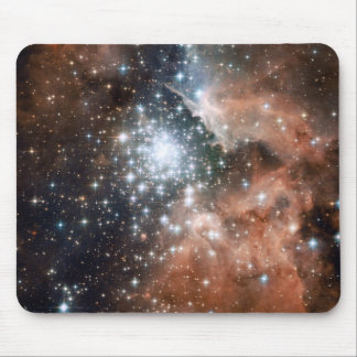 Space scene mouse pads