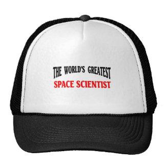 Space scientist hats