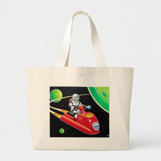 SPACE SCOOTER LARGE TOTE BAG