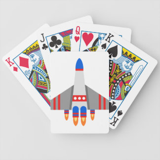 Space Ship Bicycle Playing Cards