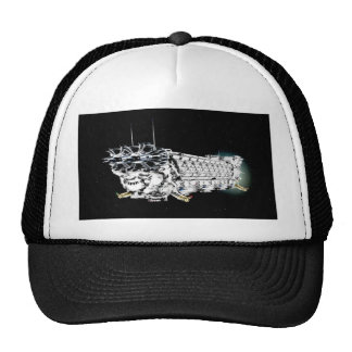 Space ship hat