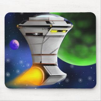 Space Ship Mousepad