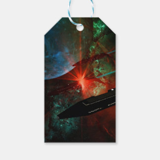 Space Ship Platoon Gift Tags