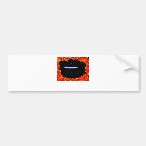 space ship re entering bumper stickers