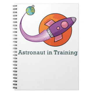 space ship rocket astronaut note books