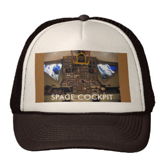 Space Ship SPACE COCKPIT Trucker Hats