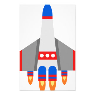 Space Ship Stationery