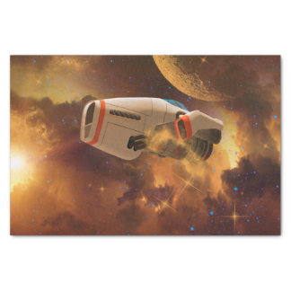 Space ship tissue paper