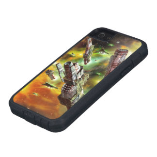 Space Ships Fantasy Tough Xtreme iPhone SE Case