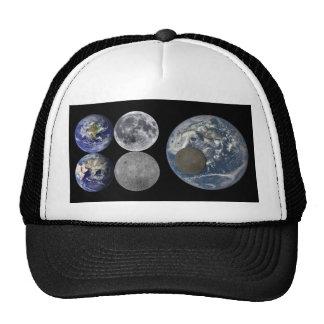 Space Shots - The Earth & Moon Cap