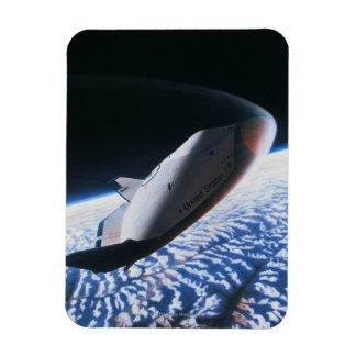 Space Shuttle 4 Rectangular Magnet