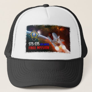 Space Shuttle Atlantis Final Mission Hat