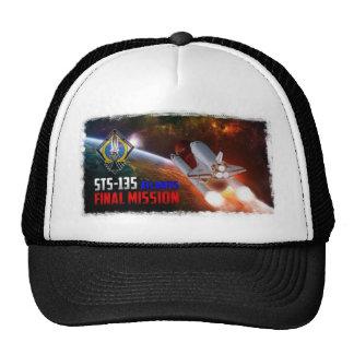Space Shuttle Atlantis Final Mission Hat