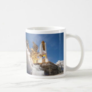 Space Shuttle Atlantis Launching STS-132 Mission Mugs