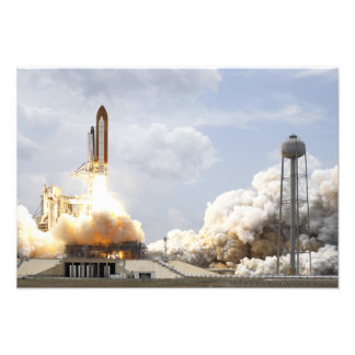 Space Shuttle Atlantis lifts off 9 Art Photo