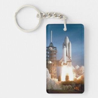 Space Shuttle Columbia Launching Key Ring