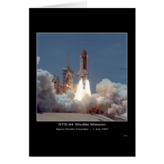 Space Shuttle Columbia Lift-off – July 1, 1997 Card
