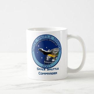 Space Shuttle Commander, Mug