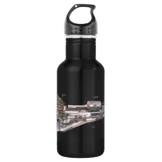 Space Shuttle Cutaway 532 Ml Water Bottle