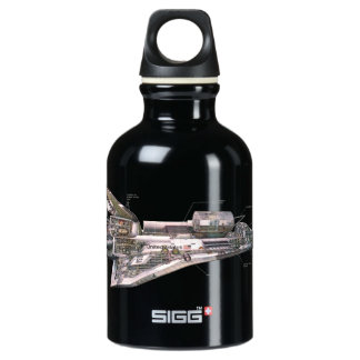 Space Shuttle Cutaway SIGG Traveller 0.3L Water Bottle