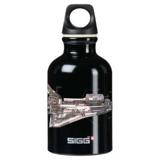 Space Shuttle Cutaway Water Bottle