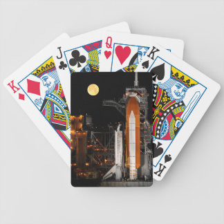 Space Shuttle Discovery and Moon Bicycle Playing Cards