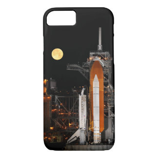 Space Shuttle Discovery and Moon iPhone 8/7 Case