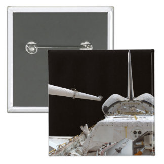 Space Shuttle Discovery's payload bay 15 Cm Square Badge