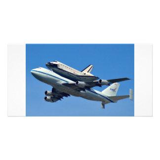 Space Shuttle Endeavor Photo Card