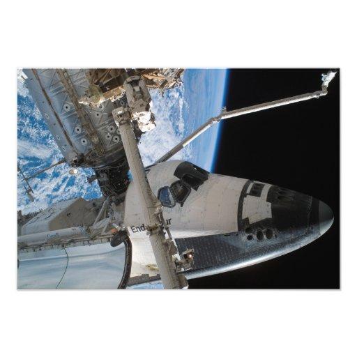 Space Shuttle Endeavour 5 Photograph