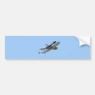 Space shuttle Endeavour Bumper Sticker