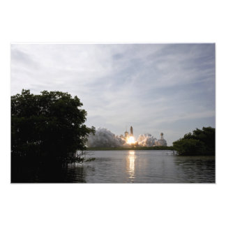 Space Shuttle Endeavour lifts off Photographic Print