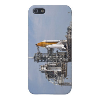 Space Shuttle Endeavour on the launch pad 4 iPhone 5 Cover