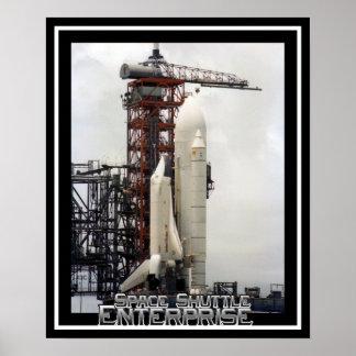 Space Shuttle Enterprise Poster