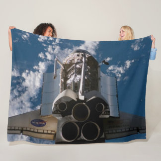 SPACE SHUTTLE FLEECE BLANKET