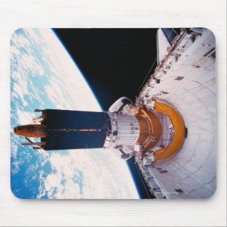 Space Shuttle in Orbit 2 Mouse Pad